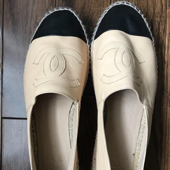 CHANEL Shoes | Chanel Slip Ons | Poshmark